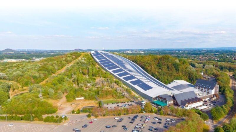 Dette innendørs skianlegget er et av nederlands høyeste punkter