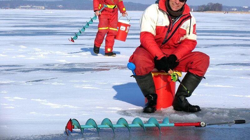 Når er det trygt å isfiske?