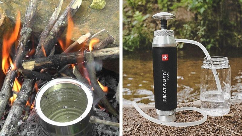 Hvordan rense vann på camping og fjelltur