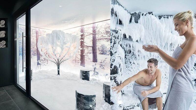 Dette firmaet bygger innendørs spa snø-rom