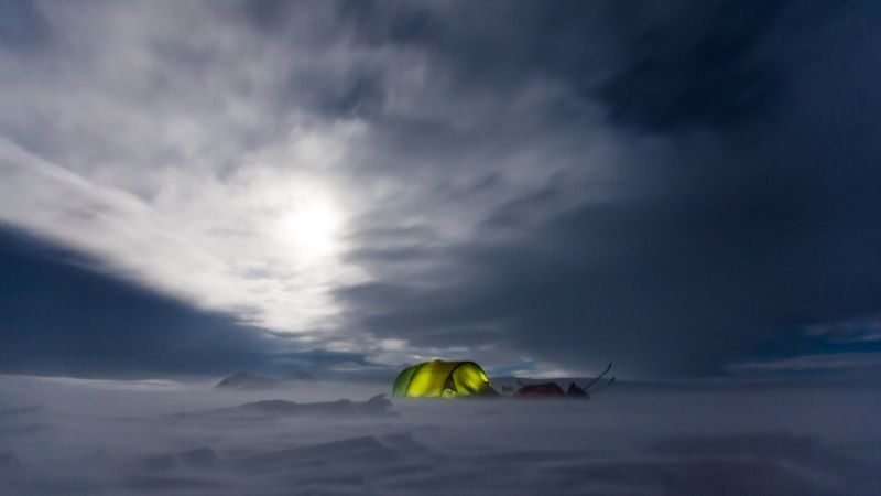 Tips til å varme opp et telt på vinter, høst og vår