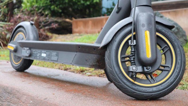 Komfortable el sparkesykler med lufthjul
