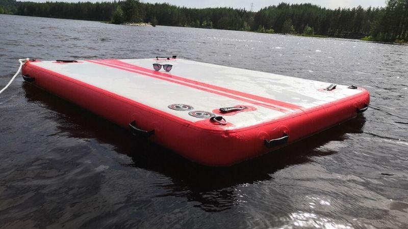 Oppblåsbar Flåte og Brygge – Gøy på vannet! – Northsport.no
